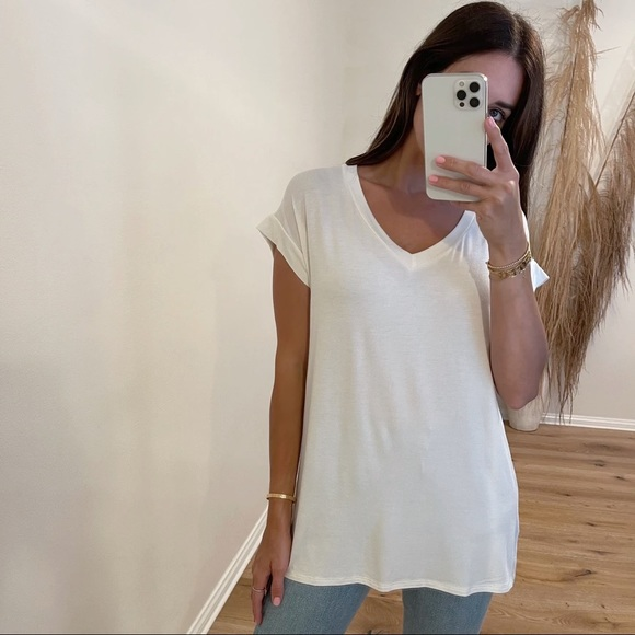 LAST • The Perfect V-Neck Tee